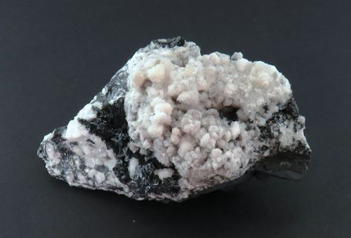 Picture of Calcite with Hausmanite (Kalahari Manganese Fields, South Africa)