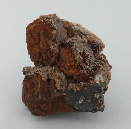 Picture of Goethite Ps. Pyrite with Calcite (Kalahari Manganese Fields, South Africa)
