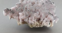 Picture of Mangoancalcite on Kutnahorite  (Kalahari Manganese Fields, South Africa)