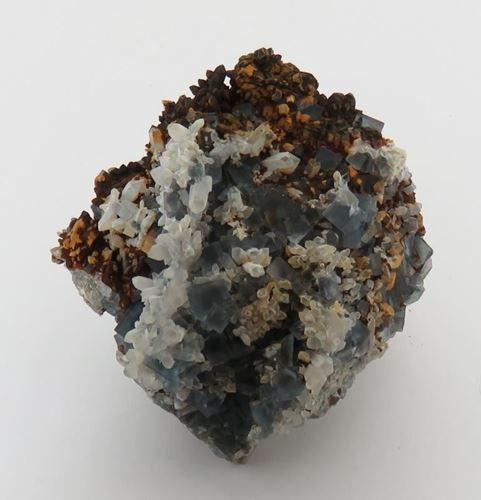 Picture of Fluorite, Goethite, Quartz (Okorusu, Namibia)