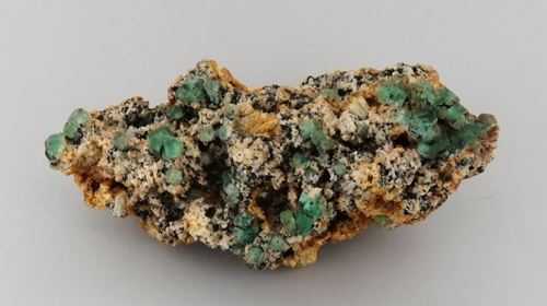 Picture of Fluorite on Feldspar (Erongo, Namibia)