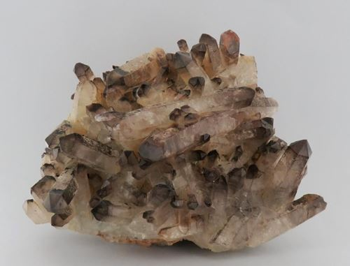 Picture of Quartz with Specularite Tips(Lower Orange River, South Africa)
