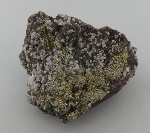 Picture of Calcite with Pyrite (Kalahari Manganese Fields, South Africa)