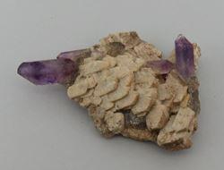 Picture of Amethyst on Feldspar (Erongo, Namibia)