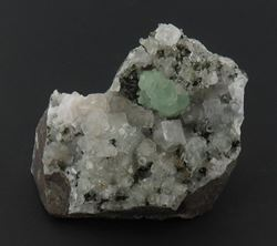 Picture of Prehnite with Quartz, Calcite and Epidote   (Erongo, Namibia)