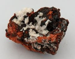 Picture of Barite with Gaudefroyite (Kalahari Manganese Fields, South Africa)