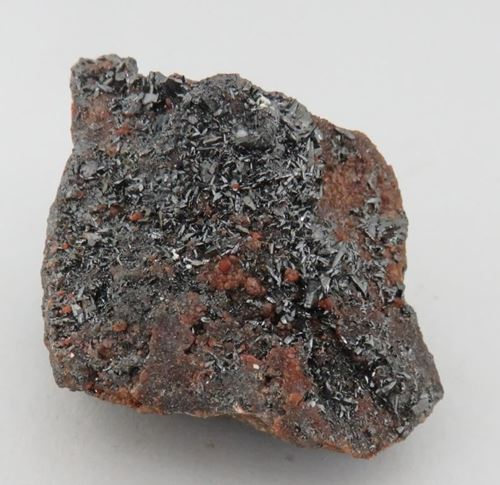 Picture of Braunite 2 with Andradite (Kahalari Manganese Fields, South Africa)