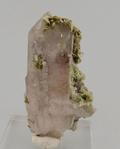 Picture of Quartz with Epidote (Mussina, South Africa)