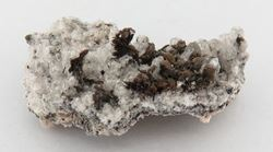 Picture of Goethite on Calcite (Kalahari Manganese Fields, South Africa)