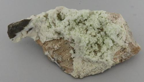 Picture of Fluorapatite pseudomorph after Tarbutite (Skorpion, Namibia)