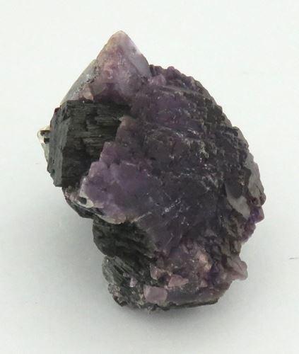 Picture of Fluorite on Schorl (Erongo, Namibia)