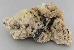 Picture of Aquamarine, Hyaline Opal & Feldspar. (Erongo, Namibia)