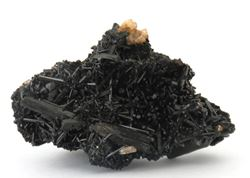 Picture of Goshenite on Schorl (Erongo, Namibia)
