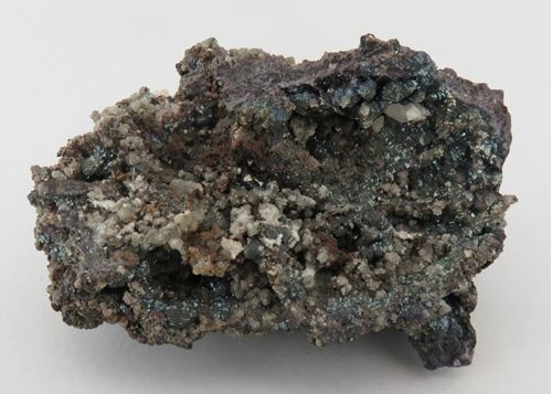 Picture of Cuprite with Calcite (Tsumeb, Namibia)