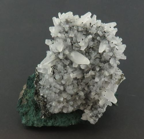 Picture of Calcite on Malachite (DR Congo)