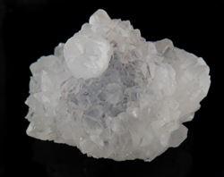 Picture of Quartz on Fluorite (Erongo, Namibia)