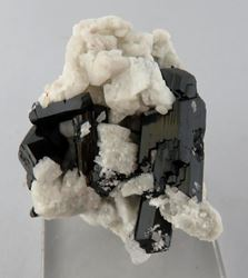 Picture of Black Tourmaline  with Feldspar (Namibia)