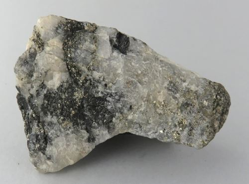 Picture of Graphite with Pyrite (Pilgrims Rest, South Africa)