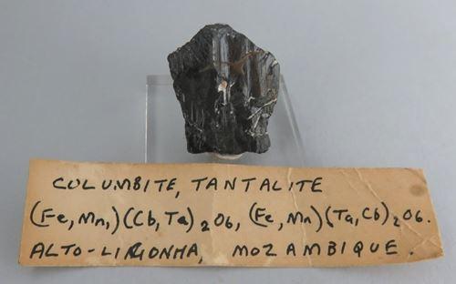 Picture of Columbite, Tantalite. (Mozambique)