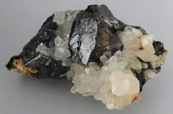 Picture of Sphalerite with Quartz (Kosovo)