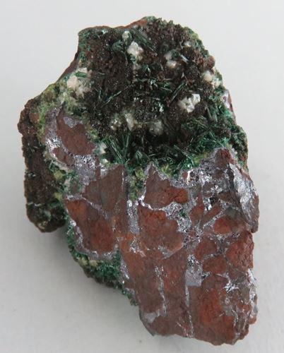 Picture of Malachite on a Cupritic orebody (Tsumeb, Namibia)