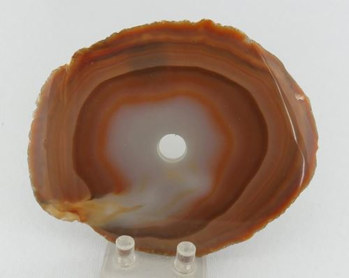 Picture of Agate slices drilled