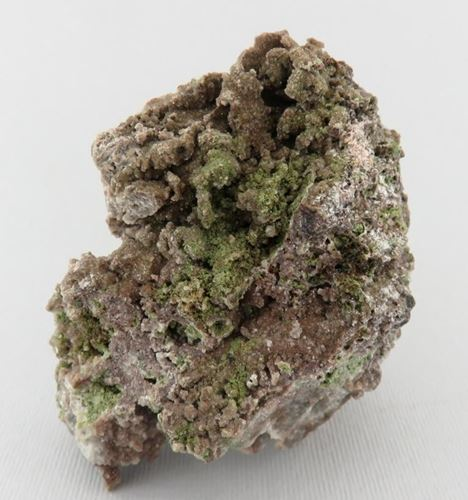 Picture of Mottramite with Dolomite (Tsumeb, Namibia)