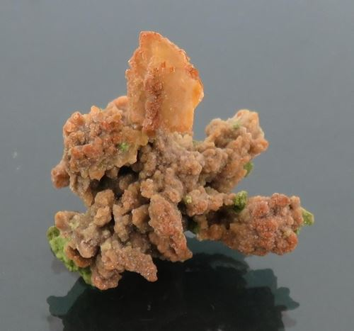 Picture of Calcite on Quartz (Tsumeb, Namibia)
