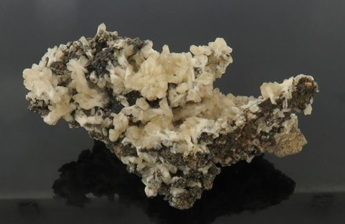 Picture of Barite & Chalcopyrite (Rosh Pinah, Namibia)