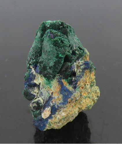 Picture of Malachite Ps. Azurite (Tsumeb, Namibia)