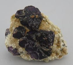 Picture of Fluorite on Muscovite (Erongo, Namibia)