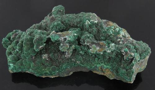 Picture of Calcite on Malachite (Tsumeb, Namibia)