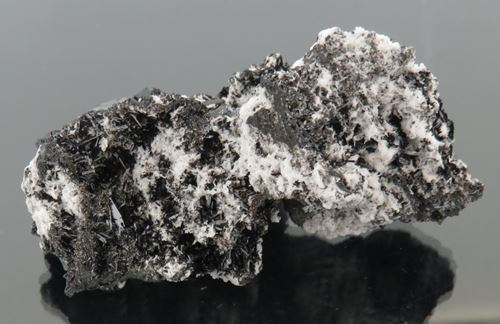Picture of Manganite with Celestine (Kalahari Manganese Fields, South Africa)