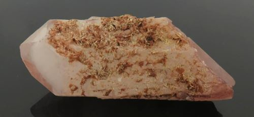 Picture of Quartz with Epidote (Messina Mine, South Africa)