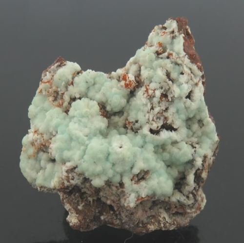 Picture of Calcite on Descloizite (Namibia)