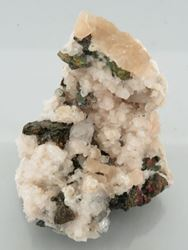 Picture of Chalcopyrite with Calcite (South Africa)